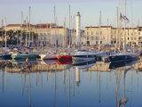 The Harbour in the Evening, La Rochelle, Poitou-Charentes, France