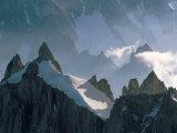 View to Aiguilles De Chamonix, Aiguille Du Midi, Chamonix, Haute-Savoie, Rhone-Alpes, France