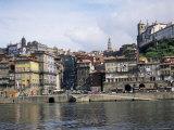 Riverfront, the Douro River, Oporto (Porto), Portugal
