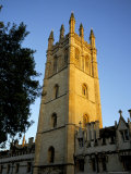 The Tower of Magdalen College at Sunrise, Oxford, Oxfordshire, England, United Kingdom
