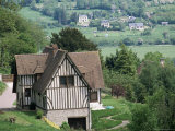 Cottage, Vallee d'Auge (Auge Valley), Basse Normandie (Normandy), France