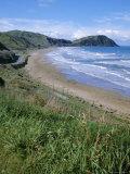 Northern Beaches on the Coast Road, Gisborne, East Coast, North Island, New Zealand
