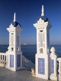 View to Benidorm Island from the Balcon Del Mediterraneo, Costa Blanca, Valencia, Spain