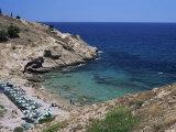 Cove Near Benidorm, Costa Blanca, Valencia Region, Spain, Mediterranean