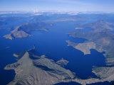 Aerial View, Marlborough Sound, South Island, New Zealand