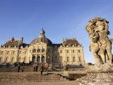 Chateau De Vaux Le Vicomte, Ile De France, France