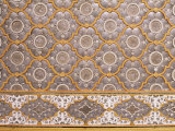 Detail of Fine Mirror and Plaster Work Found in Sheesh Mahal, the City Palace, Jaipur, India