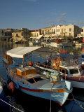 Fishing Boats, Rethymnon, Crete, Greek Islands, Greece, Mediterranean