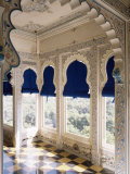 The Shiv Niwas Palace Hotel, Overlooking the Lake, Udaipur, Rajasthan State, India