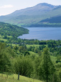 View of Loch Tay and Ben Lawers, Tayside, Scotland, United Kingdom