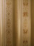 Detail of the Gilded Durbar Hall, Sirohi Palace, Sirohi, Southern Rajasthan State, India
