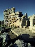 Temple of Ggantija (Gjantija), Unesco World Heritage Site, Gozo, Malta