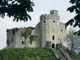 Norman Keep, Cardiff Castle, Cardiff, Glamorgan, Wales, United Kingdom