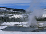 Geysers in Yellowstone National Park, Unesco World Heritage Site, Montana, USA