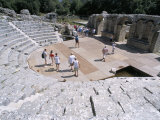 Roman Archaeological Site, and Terraced Seating from 3rd Century AD, Albania