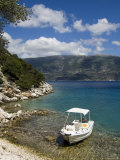 Near Fiskardo on the East Coast of Kefalonia (Cephalonia), Ionian Islands, Greece