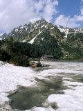 Popradske Pleso (Lake), High Tatra Mountains, Slovakia