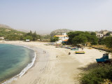 Beach at Tarrafal, Santiago, Cape Verde Islands, Africa