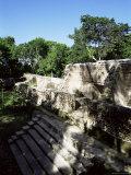 Structure 1, Cahal Pech, Belize, Central America