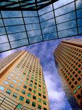 Hwt Tower and Ibm Centre, Southbank, Melbourne, Victoria, Australia