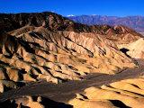 Zabriskie Point, Badlands, Death Valley National Park, California