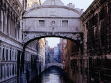 Ponte Dei Sospiri or The Bridge of Sighs, Venice, Italy