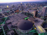 City at Twilight from Tower of the Americas, San Antonio, Texas