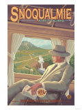 Snoqualmie by Air, Snoqualmie Falls, Washington