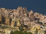 Geological Formations, Hoodoos, Cave Dwellings, Cappadoccia, Turkey