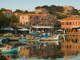 Fishing Port, Lesvos, Mithymna, Northeastern Aegean Islands, Greece