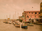 Waterfront Canal, Belize City, Belize