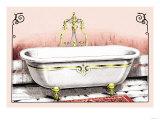 Ornate Bathtub