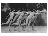 Six Nude Dancers
