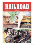 Railroad Magazine: Traveling, 1950