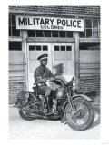 Mp on His Motorcycle