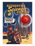 Authentic Science Fiction: The Singing Spheres