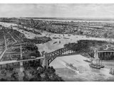 East River and Hell Gate Bridge