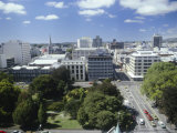 View Over the City, Christchurch, Canterbury, South Island, New Zealand, Pacific