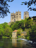 Durham Cathedral from River Wear, County Durham, England