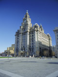 The Liver Building, Pier Head, Liverpool, Merseyside, England, UK