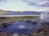 Hot Springs, Lake Bogoria, Kenya, East Africa, Africa