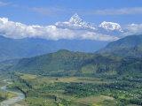 Mt. Machapuchare (Machhapuchhre) 7059M, 'The Fishtail' Peak, Himalayas, Nepal