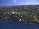 Aerial View, St. Thomas, U.S.Virgin Islands, Caribbean, Central America