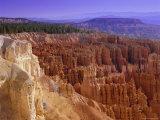 Rock Hoodoos in Bryce Amphithreatre, Bryce Canyon National Park, Utah, USA