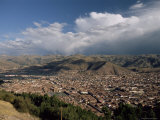 View Over the City, Cuzco (Cusco), Peru, South America