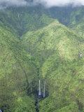The Wettest Place on Earth, Mt. Waialeale, Kauai, Hawaii, USA