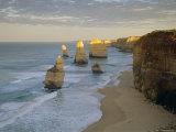 Sea Stacks on the Coast, the Twelve Apostles, Great Ocean Road, Victoria, Australia