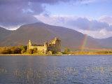 Kilchurn Castle and Loch Awe, Highlands Region, Scotland, UK, Europe