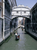 The Bridge of Sighs, Venice, Unesco World Heritage Site, Veneto, Italy, Europe