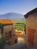 View from Eaus Village of Mont Canigou, Pyrenees-Orientale, Languedoc-Roussillon, Pyrenees, France